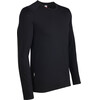 Icebreaker M's Tech Top LS Crewe Black (001)